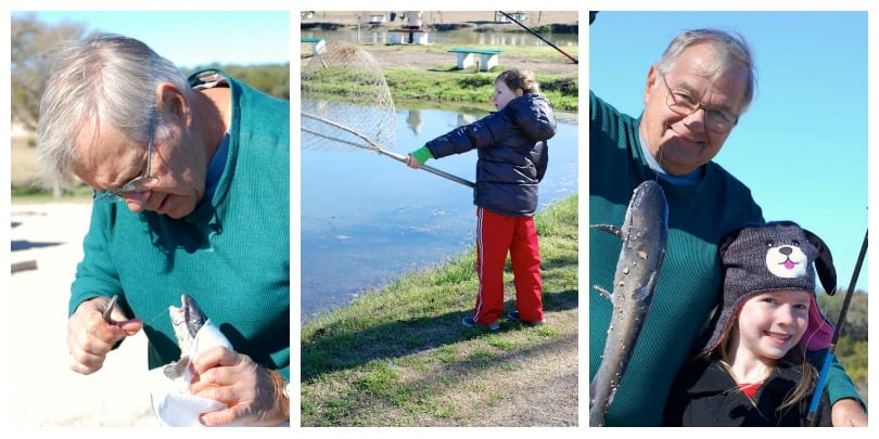 kid-friendly fishing near San Antonio Texas