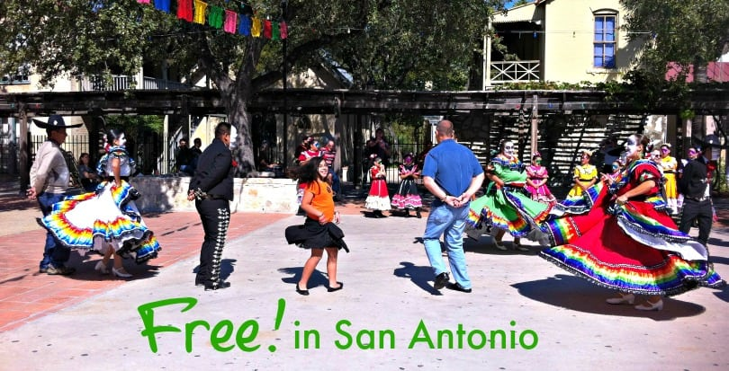 Free family events in San Antonio through April 27, 2014