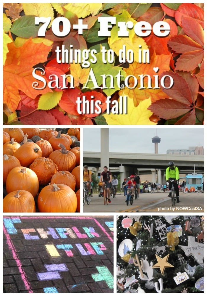 70+ free things for kids and families to do in San Antonio this fall
