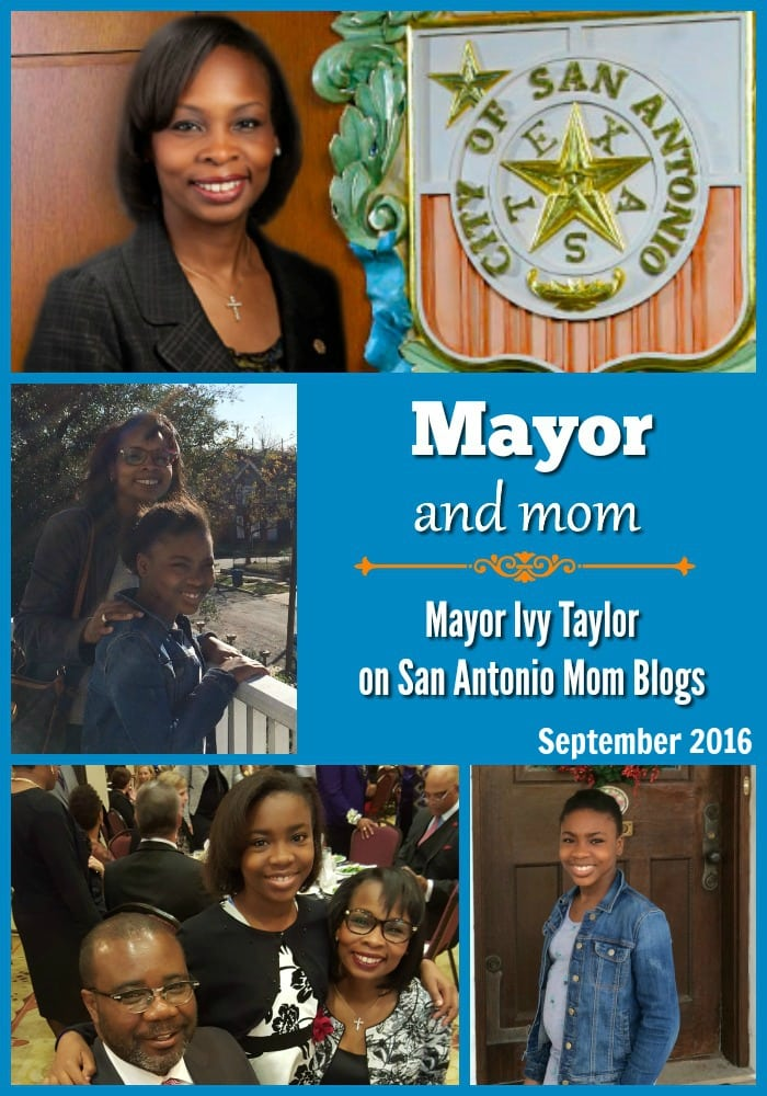 Mayor & Mom: Ivy Taylor on family changes and transitions