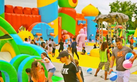 The World's Biggest Bounce House is Coming Back to San Antonio
